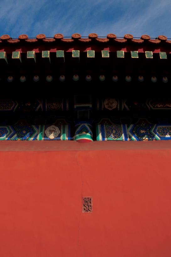 瓦屋顶,故宫,北京,宫墙